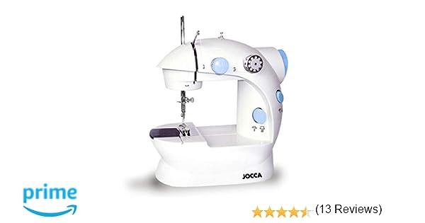 JOCCA Set Máquina De Coser 6642 + costurero plegable 7295: Amazon.es: Hogar