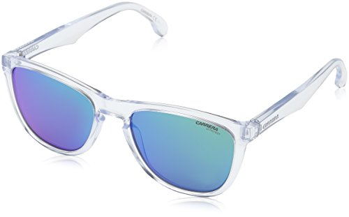 Carrera 5042/s Rectangular Sunglasses, Crystal, 19 mm