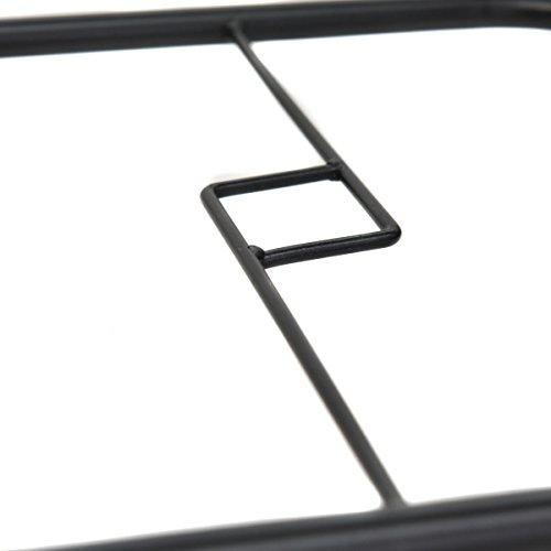 Tangkula Patio Glass Top Frame All Table