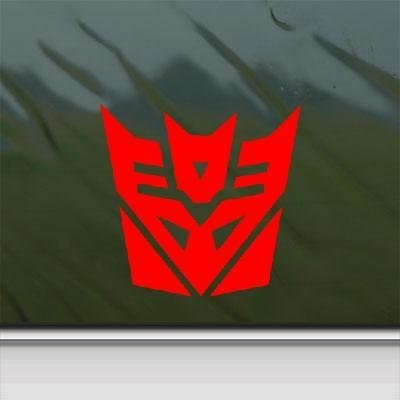 Transformers Autobot Decal Diecut Sticker Self Adhesive Vinyl