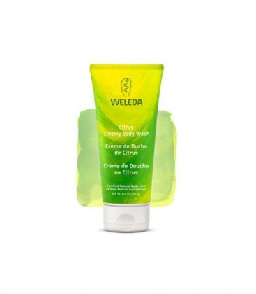 Weleda Creamy Body Wash, Citrus, 7.2 Ounces ()