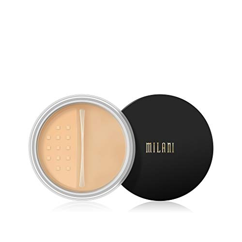 Milani Make It Last Setting Powder - Translucent Banana (0.12 Ounce) Cruelty-Free Mattifying Face Powder that Sets Makeup for Long-Lasting Wear