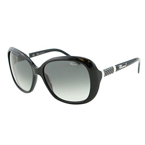 Chopard Imperiale SCH 149 700Y Women Black Precious Butterfly Sunglasses ()