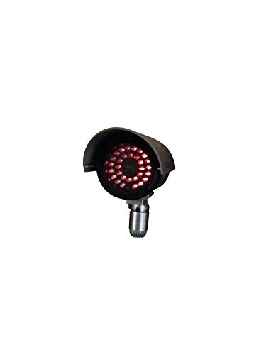 UniquExceptional UDC4black Dummy Fake Security Camera with 30 Illuminating LEDs (Black)