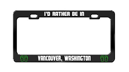 Fshionlicendseplate I'd Rather BE in Vancouver, Washington for sale  Delivered anywhere in Canada