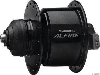 Shimano DH-S501 Alfine Dynamo Disc Hub (36H Front, - Bicycle Dynamo Hub