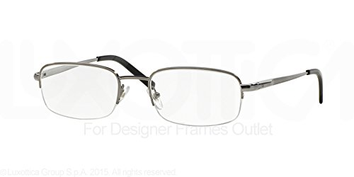eglasses Styles Gunmetal Frame w/Non-Rx 52 mm Diameter Lenses, 268-5219, ()