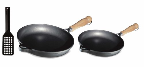 Berndes Tradition Fry pan Set, Includes 9-1/2-Inch Skillet,