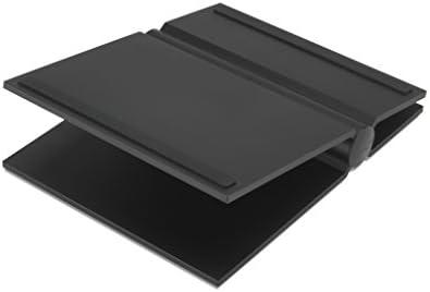 SoundXtra Universal Desktop Speaker Stand – Large, Pair Black