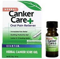 Quantum Canker Care Plus Oral Pain Reliever, 0.33 Ounce -- 6 per (0.33 Ounce Canker Care)