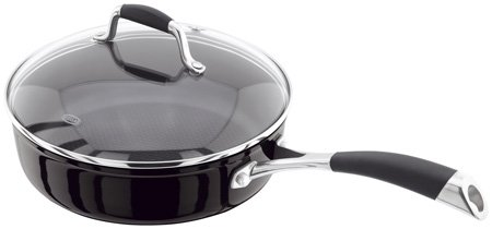 Stellar S318B 24 Centimeter Saute Pan With Lid Horwood