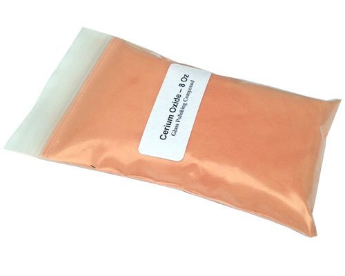 Cerium Oxide Glass Polishing Compound - 8 Oz