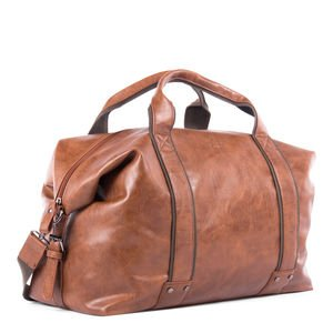 0cffab859857 Image Unavailable. Image not available for. Colour  Bugatti Valentino  Duffel Bag- Cognac