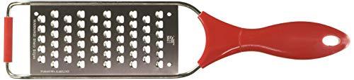 Progressive International HG-1201 Prep Works Classic Hand Grater, Medium, Red/White