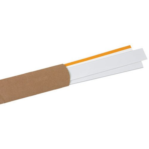 Slip-Strip LH164 Plastic Self Adhesive Label Holder Strip, 48