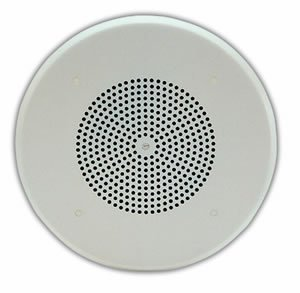 ONE-WAY 8 AMPLIFIED CEILING SPEAKER by Valcom