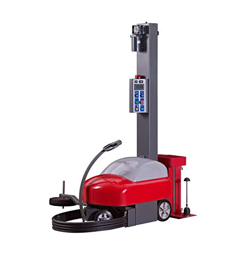 Meilestone MS-360 Versatile Mobile Robot Robotic Pallet Stretch Wrapper | Easy to Program Electronic Controls | Manually Adjustable Wrap Style