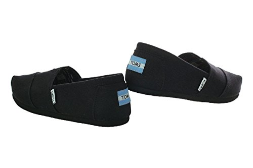 Toms Women's Black on Black Canvas Classic ASLPRG 10002472 (SIZE: 7.5) Photo #3