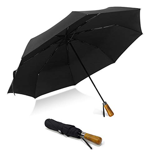 LEAGERA 54inch Large Umbrella Compact& Windproof-Folding Golf Size for Women Men