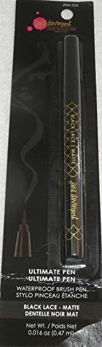 Jane Davenport Ultimate Brush Pen Black Lace Matte