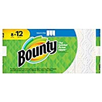 Bounty Select-A-Size 2-Ply 8 Rolls of 83 Sheets Paper Towels