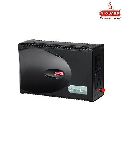 V Guard VG Crystal Voltage Stabilizer for Television, Black Kitchen   Home Appliances