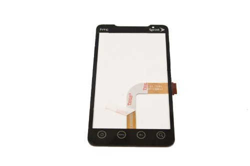 Touch Screen Digitizer Front Glass for Sprint HTC EVO 4G 4 G EVO 4G A9292 Supersonic ~ Repair Parts Replacement