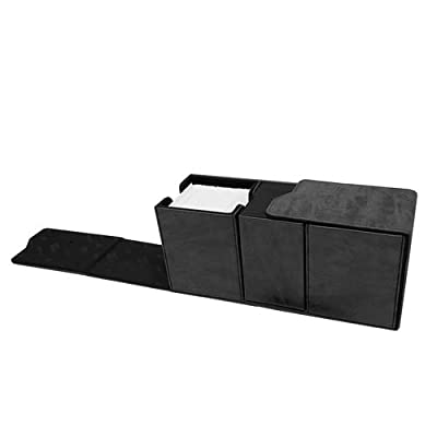 Ultra Pro E-85895 Suede Collection Alcove Vault Deck Box-Jet: Toys & Games