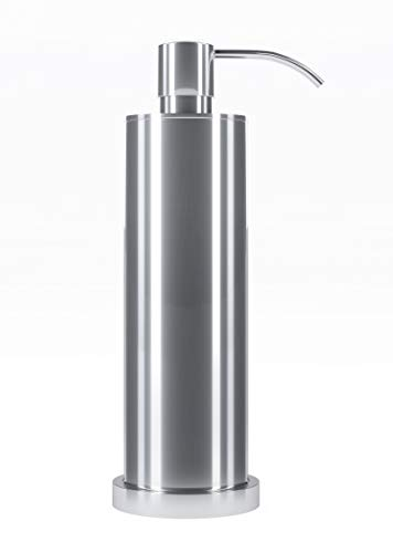 (Kennedy Reese Collection | Luxury Chrome Soap Dispenser | 100% Quality Material | Made with Brass & Chrome | Counter Top Liquid Soap Dispenser )
