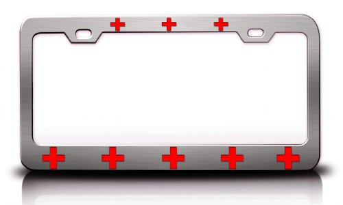 cross country license plate frame - 2