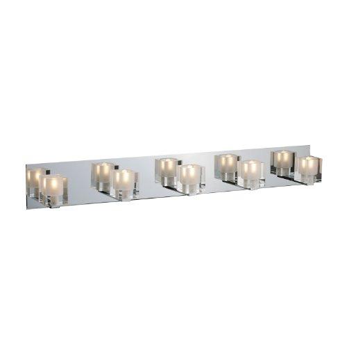 ET2 Lighting E22171-18 5 Light Chrome Bathroom -