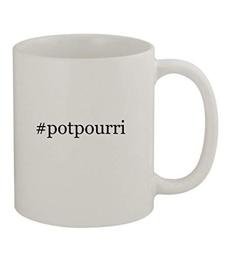 #potpourri - 11oz Sturdy Hashtag Ceramic Coffee Cup Mug, White