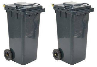 Vestil th-32-gyポリエチレン32-gallonゴミ箱、22