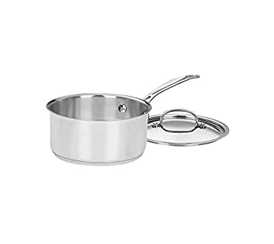 Cuisinart Chef's Classic Stainless 2-Qt. Covered Saucepan
