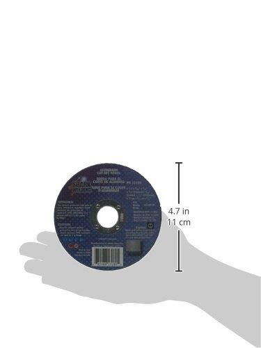 Type 1 5-Pack Shark 13180 4.5x1//32x7//8-Inch Aluminum Cutting Wheel