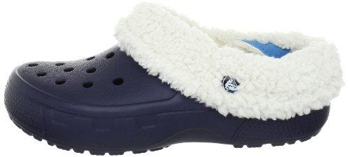 Sabot navy E Sabot oatmeal Collar Zoccoli Unisex U Crocs Full Mammoth Adulto Blu qfwx1aB