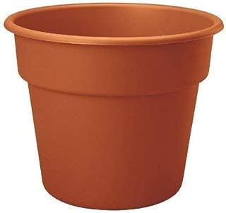 "product image for Dura Cotta Round Pot Planter Size: 17"" H x 22"" W x 22"" D, Color: Terra Cotta"