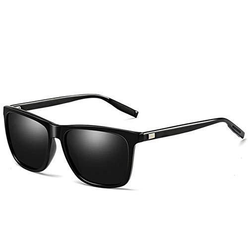 Hue De Libre Estilo Al Montar De Gafas Polarizadas Gafas Sol Gafas Protección De Black UV400 Magnesio Conducción Aire De Y Aluminio WFFH Mujeres Sol De Unisex Hombres qApwHx