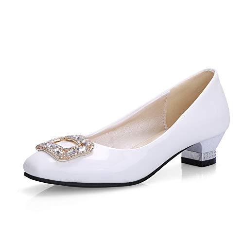 Sandales Blanc MMS06153 36 5 Compensées 1TO9 Blanc Inconnu Femme xCU7qFw