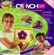 Crunch Art Fun Fabric Creations by Value Source Int'l.
