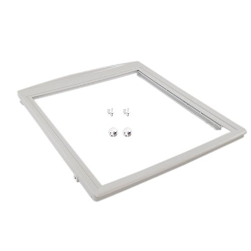Kenmore 240350702 Crisper Drawer Cover Frame, 241993001 Crisper Frame Stud and 241993101 Crisper Frame Stud Bundle