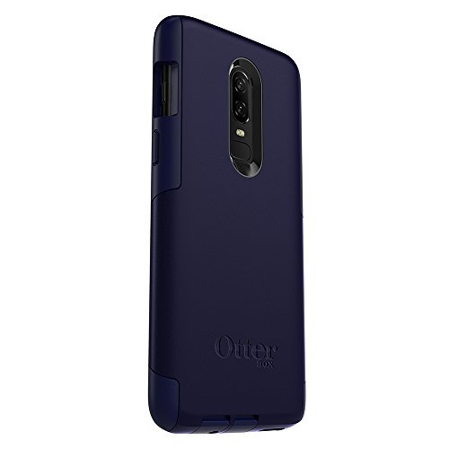 huge discount cf8e0 55edc OtterBox Commuter Series Case for OnePlus 6 - Retail Packaging - Indigo Way  (Maritime Blue/Admiral Blue)