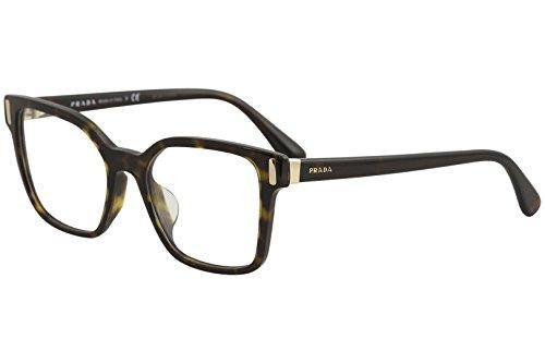 Prada PR05TV Eyeglass Frames 2AU1O1-52 - Havana - Prada Frames