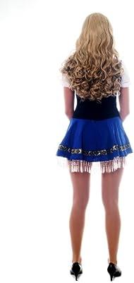 Dress me up, L033, Disfraz para mujer traje vestido: traje azul ...