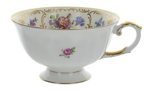 Vintage Franconia Krautheim Selb Bavaria Germany Dresden Flower Pattern Tea Cup Only (Bavaria Dresden Flowers)
