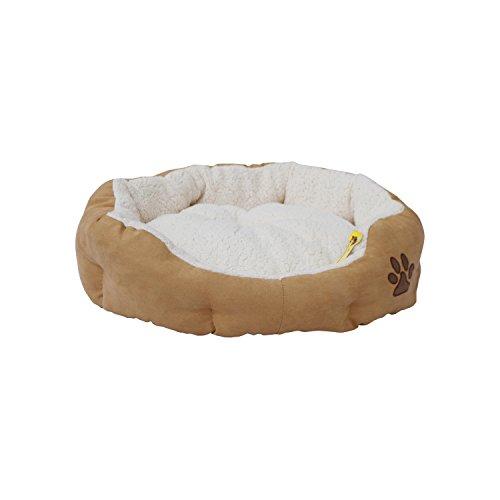 ALEKO PB02M Medium Plush Pet Cushion Crate