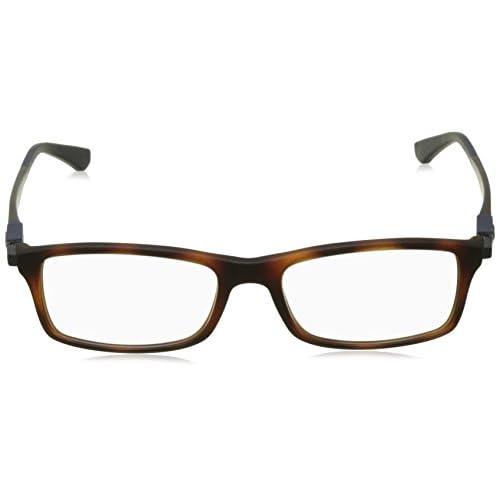 6440375e69 Ray-Ban 0Rx7017, Monturas de Gafas para Hombre, Matte Red Havana, 54 ...
