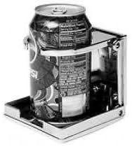 Chrome Adjustable Drink Holder Seachoice 79411