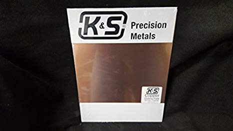 K&S Precision Metals 6615 Copper Etching Plate, 0.064