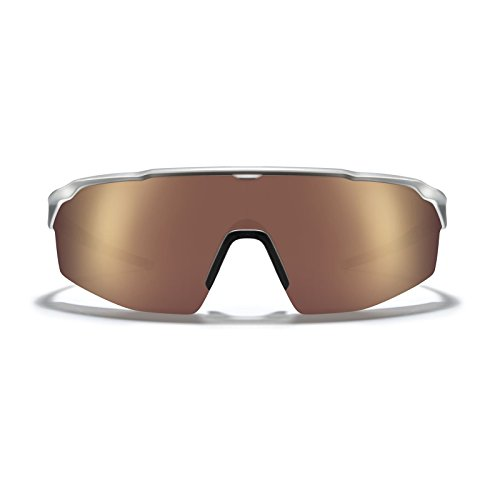 ROKA SR-1 APEX Advanced Sports Performance Ultra Light Weight Sunglasses with Patented Gecko Pad for No Slip Ideal for Smaller Faces For Men and Women - Matte Silver Frame - - Sr Sunglasses